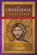 The Orthodox Study Bible: Leathersoft Gift Edition (Ancient Faith Edition, 2019)