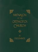 Menaion of the Orthodox Church: Vol. 04, December