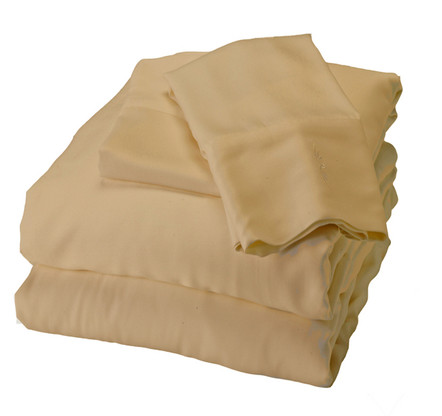 Bamboo Sheet Set in Champagne