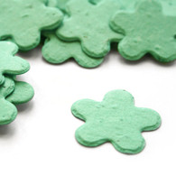 Flower Shaped Plantable Confetti - Aqua