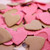 Hot Pink & Brown Heart Shaped Plantable Seeded Paper Confetti Set