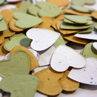 """In the Meadow"" Heart Shaped Plantable Confetti Set"