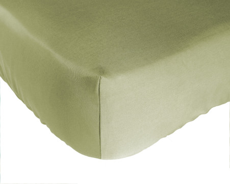 Sage Green Bamboo Crib Sheet Eco Friendly Naturally Hypo-Allergenic Super Soft Durable