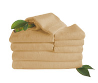 Champagne Brown Bamboo Towels 8 Piece Set