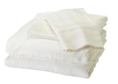 White Bamboo Sheet Set