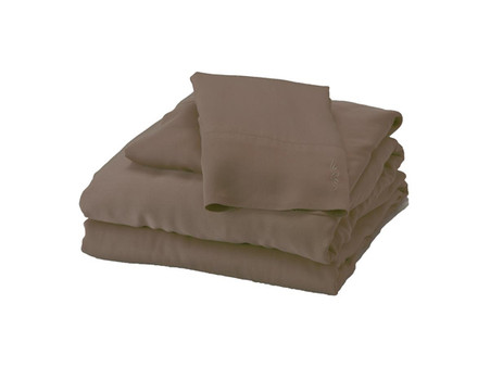 Mocha Brown Bamboo Sheet Set