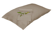 Champagne Brown 100% Bamboo Pillowcase Set Eco Friendly Hypoallergenic