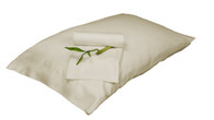 Ivory 100% Bamboo Pillowcase Set Eco Friendly Hypoallergenic