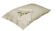 Ivory 100% Bamboo Pillowcase Set Eco Friendly Hypoallergenic