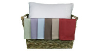 Travel Size Bamboo Pillowcase - 7 Colors Available