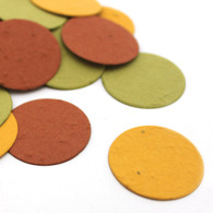 Autumn Circle Seed Eco Confetti