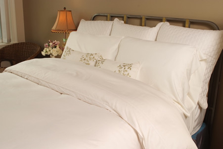 White White 100% Bamboo Duvet Cover Hypoallergenic Eco Friendly