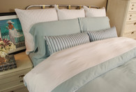 White Sky 100% Bamboo Duvet Cover Hypoallergenic Eco Friendly