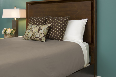 Champagne Ivory 100% Bamboo Duvet Cover Hypoallergenic Eco Friendly