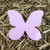 """Butterfly Plantable Seeded Paper Shape - 3.25"""" x 4"""" Size, Pink"""