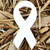 "White Awareness Ribbon 1.5"" x 3"" Plantable Wildflower Seeded Paper Favor Shape"