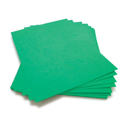 Emerald Green Plantable Seeded Paper Sheets With Wildflower Seeds