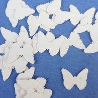 Cream Butterfly Shaped Plantable Wildflower Seed Recycled Paper Wedding Confetti