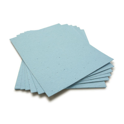 """Cornflower Blue Plantable Wildflower Seed Seeded Paper Sheets - 8.5"""" x 11"""""""