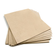 "Latte Brown Plantable Wildflower Seed Seeded Paper Sheets - 8.5"" x 11"""
