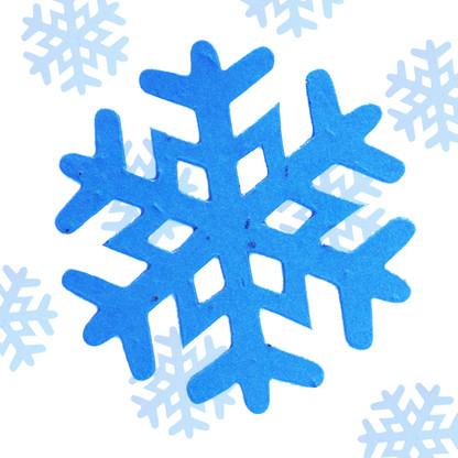 "Snowflake Plantable Seeded Paper Winter Christmas Shape - 3"" Diameter Size"