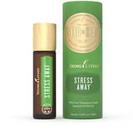 Stress Away Roll-on Essential Oil Blend 10 ml - Young Living 100% Pure Therapeutic Grade Sleep, Relaxation