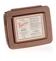 Thieves Wipes 30 ct. Travel Case - Young Living Essential Oil Cleaning