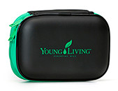 Green 10 Oil Travel Case - Essential Oils Storage Organizer