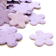 Flower Shaped Plantable Confetti - Lavender