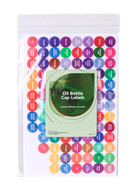 208 Essential Oil Bottle Cap Labels -  Labels by Young Living