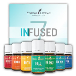 Infused 7 Oola Essential Oil Collection by Young Living
