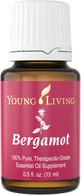 Bergamot Essential Oil 15ml Bottle - Young Living