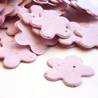 Flower Shaped Plantable Confetti - Pink