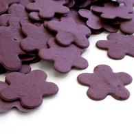Flower Shaped Plantable Confetti - Purple