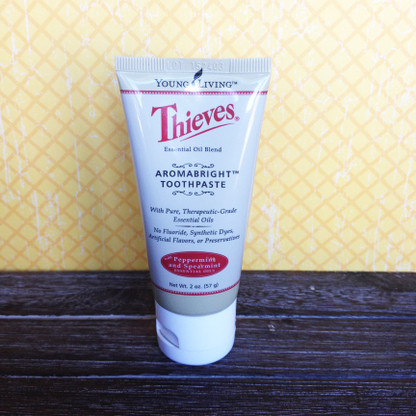 Thieves Aromabright Travel Toothpaste 2 oz. - 1 or 3 Pack - Young Living Essential Oil
