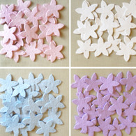 Star Flower Shaped Plantable Seed Paper Confetti - Pack of 125
