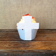 Cross Plantable Cupcake Wrappers 12 Pack - Wildflower Seed 100% Recycled Paper