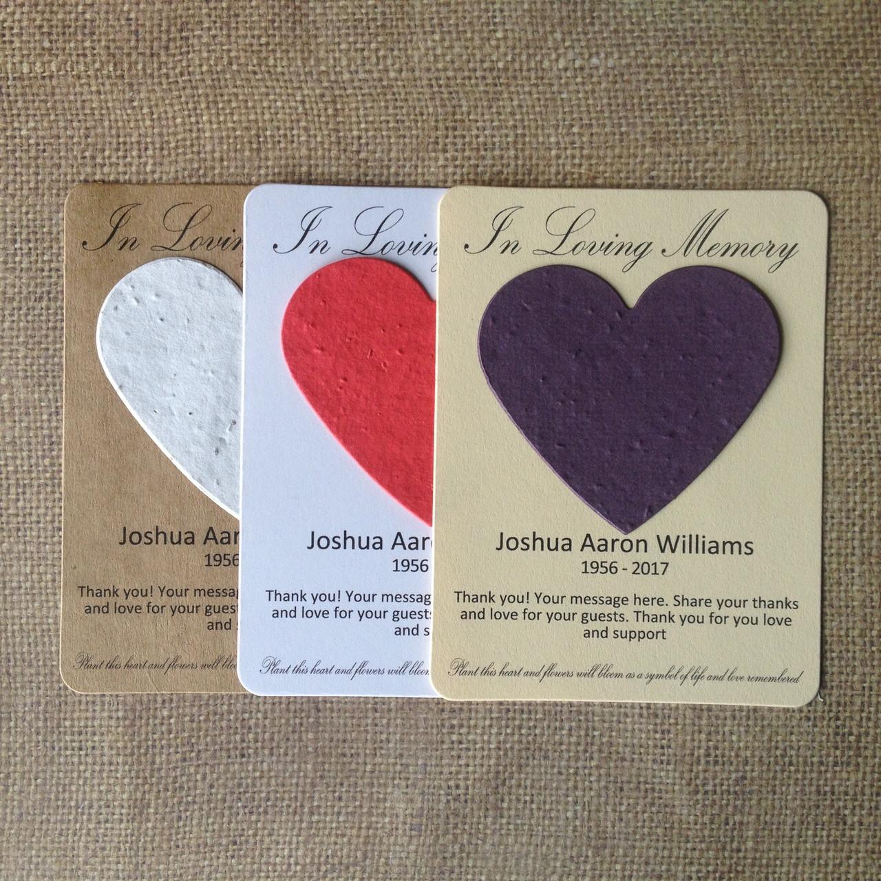 Purple Heart Military Memorial Plantable Wildflower Seed 100 ...