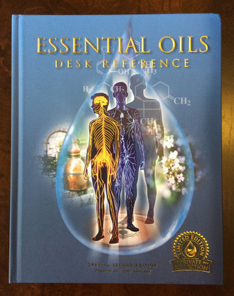 Essential Oils Desk Reference Special 2nd Edition 2016 NEW Hard Cover EODR LSP by Gary Young is a Limited Edition Private Collection from Life Science Publishing Front Cover