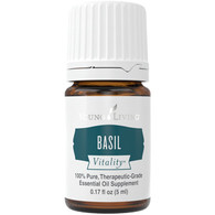 Basil Vitality Essential Oil 5 ml Bottle - Young Living