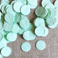 Circle Shaped Plantable Confetti - Green