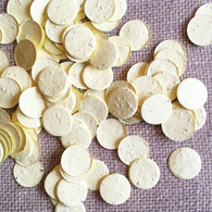 Circle Shaped Plantable Confetti - Yellow
