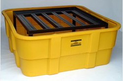 EAGLE IBC Containment Unit-Poly Tub w/Steel Platform