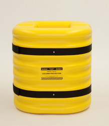 "6"" Column Protector, 24"" High, Yellow"