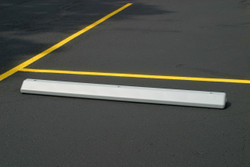 Parking Stop-Gray Polyethylene