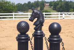 Hitching Post Sleeve-Black