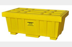 EAGLE 110 Gal. Spill Kit Box w/lid  Yellow