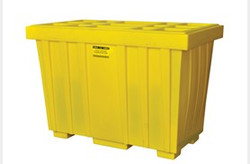 EAGLE 220 Gal. Spill Kit Box w/lid  Yellow