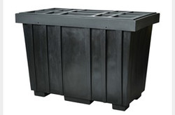 EAGLE 220 Gal. Spill Kit Box w/lid  Black
