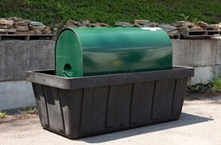 EAGLE 275 gal. Tank Spill Unit - Black No Drain
